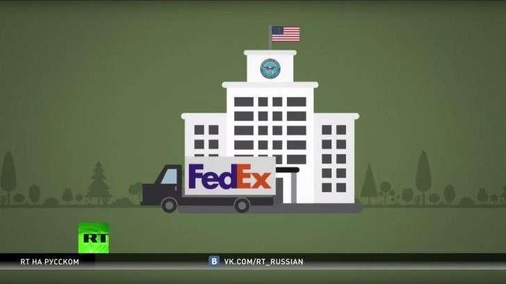 США отправили муляж бомбы через FedEx и вызвали панику в парижском аэропорту