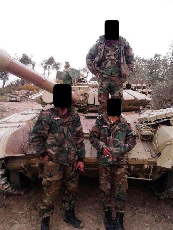 В Сирию продолжают поступать новые российские танки