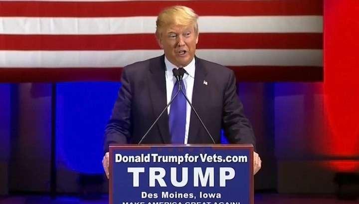 Дональд Трамп выступил против мусульман и мексиканцев