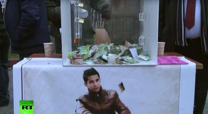 Палестинцы собирают пожертвования семье, пострадавшей от коллективного наказания Тель-Авива