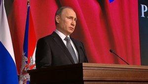 Владимир Путин приветствовал участников Чемпионата Мира по хоккею с мячом