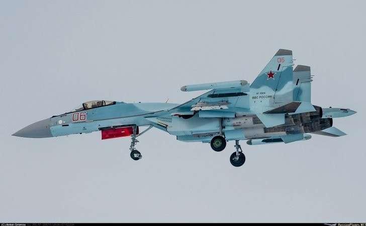 Четыре новейших истребителя Су-35С переброшены в Сирию
