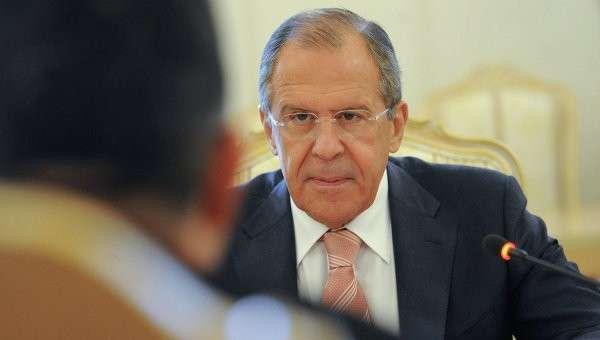 Министр иностранных дел РФ Сергей Лавров, архивное фото