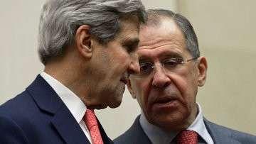 Министр иностранных дел РФ Сергей Лавров и госсекретарь США Джон Керри, Архивное фото