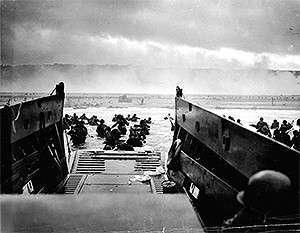 Высадка войск первого эшелона. Сектор «Омаха», 6 июня 1944 г.