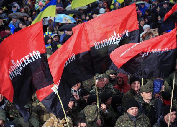 Военный прокурор Украины назвал «Правый сектор» незаконным