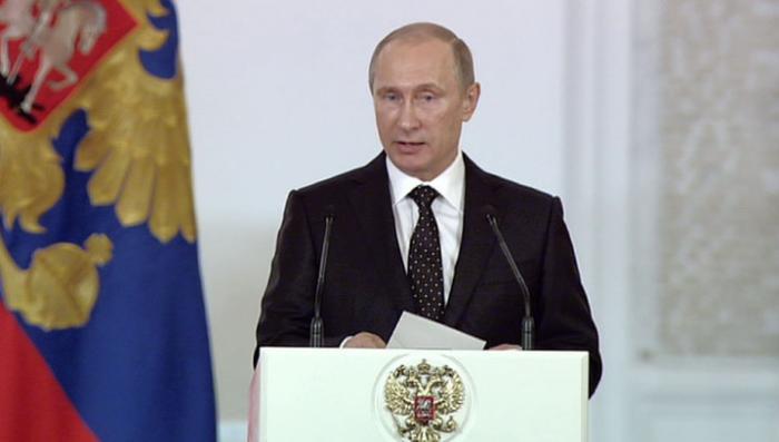 Владимир Путин назвал патриотизм национальной идеей