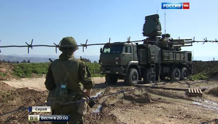 ВКС России в Сирии прикрывают мощнейшие С-400 и «Панцирь-С»