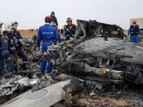 Обломки А321, разбившегося над Синаем, доставят в Каир