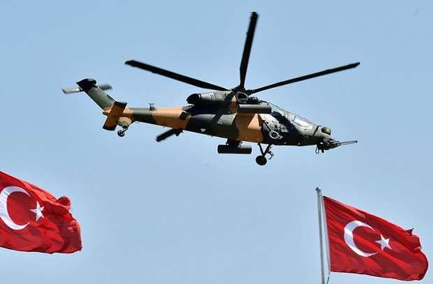 Военная авиация Турции. Фото: MURAT CETIN MUHURDAR / Turkish presidential palace / AFP