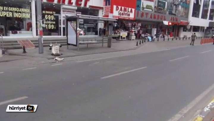 В Сети появилось видео взрыва в Стамбуле