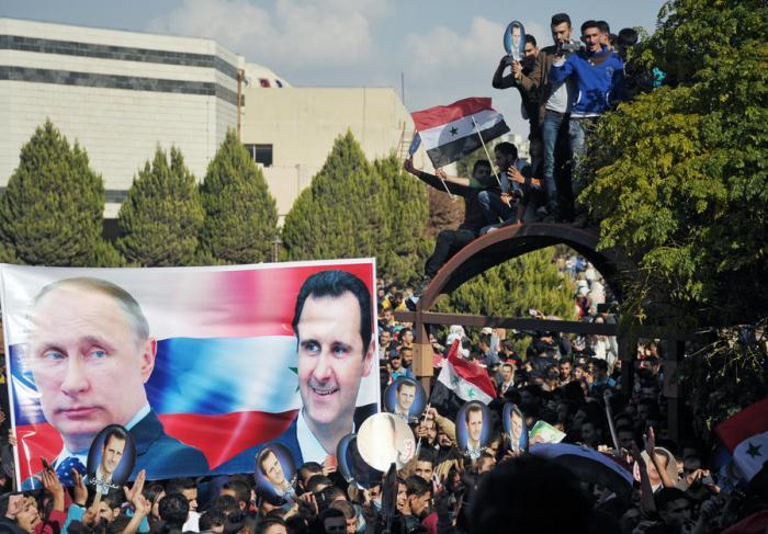 Германия признаёт, что России в Сирии удалось немыслимое