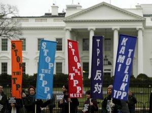 Подписание соглашения о ТТП вызвало массовые акции протеста