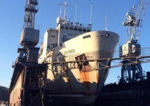 В Находке после многолетнего перерыва начал работу док для ремонта крупнотоннажных кораблей