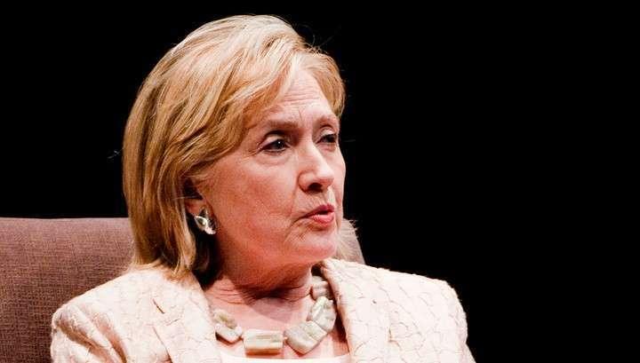 Старушка Хиллари начала заговариваться насчёт границ