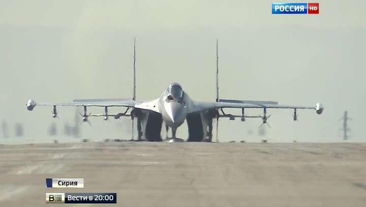 Российские истребители наводят должный порядок в небе Сирии