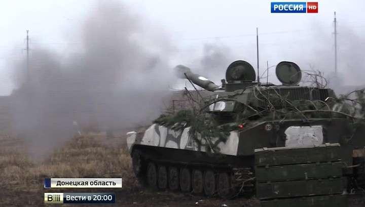 В преддверии грядущей войны армия ДНР начала масштабные учения