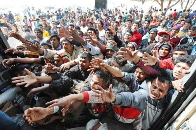 Европейцы пытаются переложить решение проблемы беженцев на Россию