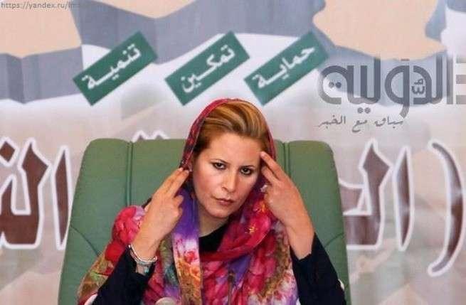 Айша Каддафи возвращается и призывает ливийцев бороться с бандитами Запада