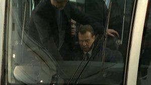 Дмитрий Медведев проехался на новом трамвае «Витязь»