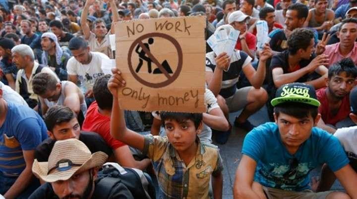 Европа: новые оккупанты не желают работать