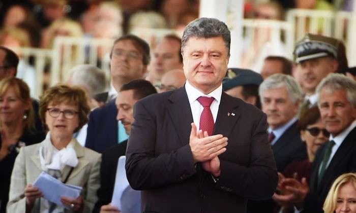 Рекламный план спасения Украины. Запад написал рецепт для Порошенко, как объединить страну за 90 дней