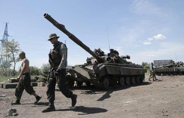 Из 80 единиц бронетехники ВС Украины уничтожено 20
