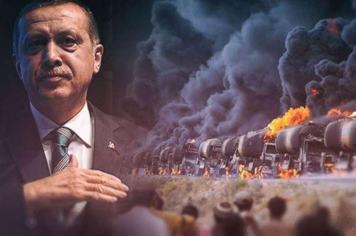 Реджеп Тайип Эрдоган очень расстроен: активное вмешательство России в ближневосточное урегулирование ставит под угрозу его налаженный нефтяной бизнес с ИГИЛ (запрещено в РФ – ред.)