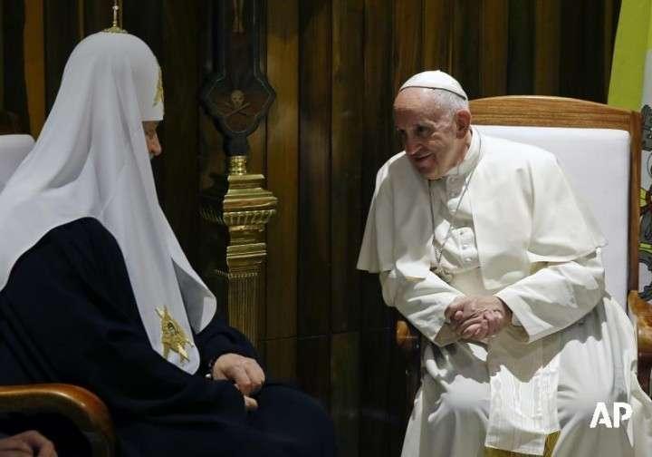 Ольга Четверикова: Для чего Папе Римскому нужна встреча с нашим Патриархом