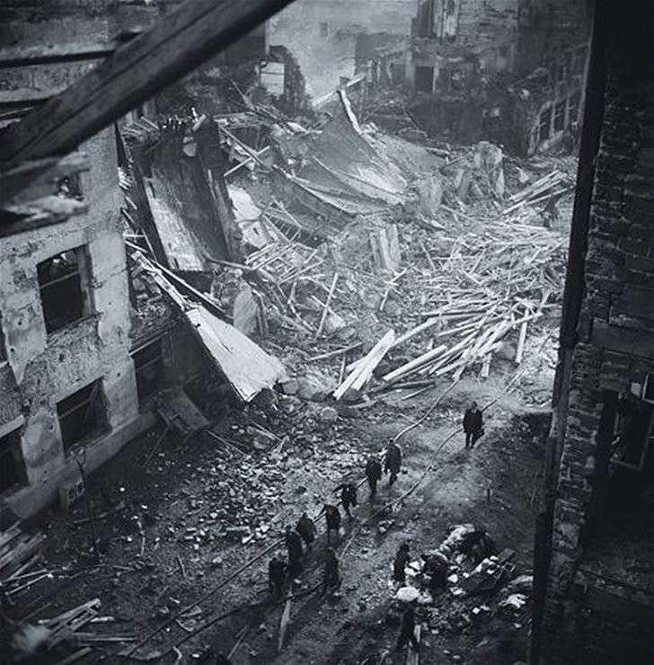 Как американцы бомбили Прагу в феврале 1945