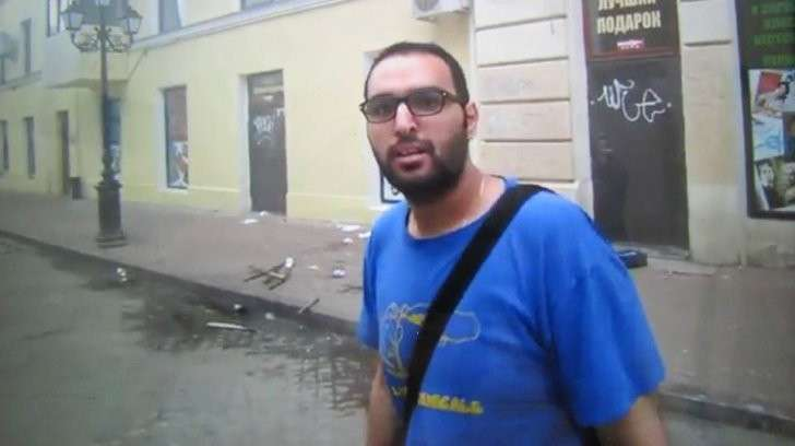 Израильтянин в Одессе 2 мая