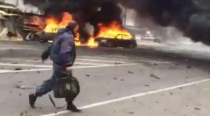 У поста ГИБДД в Дагестане произошёл взрыв, два человека погибли