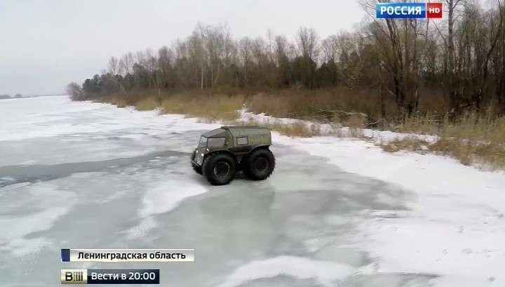 Вездеход российского изобретателя бьёт рекорды популярности в Интернете
