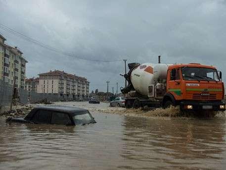 Российские города уходят под воду