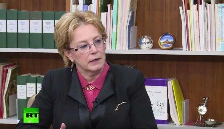 Вероника Скворцова: наживаться на эпидемии Эбола было бы безнравственно