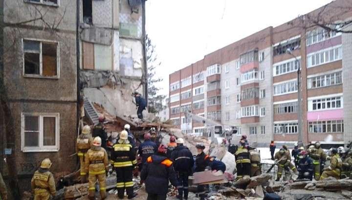 Дом в Ярославле, где произошло обрушение, проверили «Струной»
