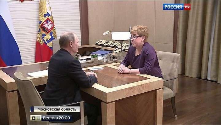 Владимир Путин назначил Наталью Жданову на место снятого Ильковского