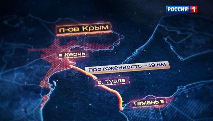 Керченский мост: главгосэкспертиза одобрила строительство самого сложного сооружения в России
