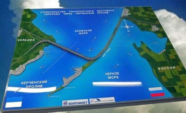 Лучшие моменты подготовки к началу строительства Крымского Моста