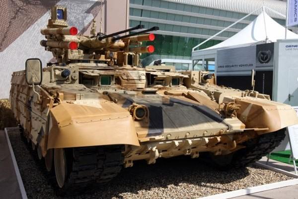 Корпорация «Уралвагонзавод» отказалась от демонстрации на салоне вооружений «Евросатори» в Париже танка Т-90 и БМПТ «Терминатор-2»