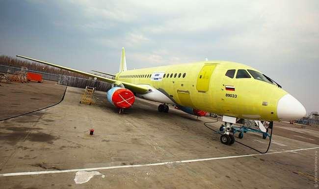 Как собирают Sukhoi Superjet 100 в Комсомольске-на-Амуре: фото