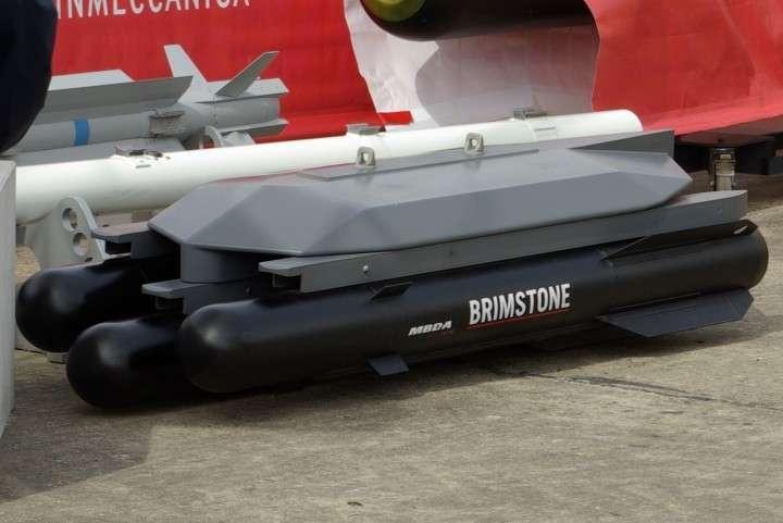 Британские «умные» ракеты Brimstone оказались «дурами»