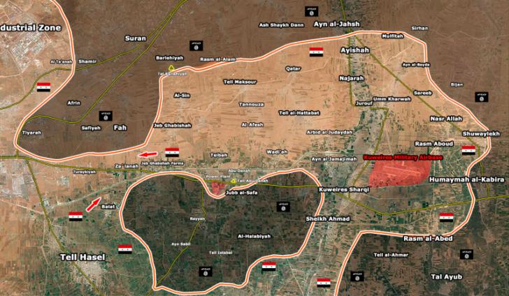 Боевики ИГИЛ оказались в «котле» в восточной части Алеппо