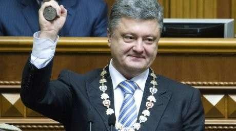 Шоколадный президент Украины абсолютно безвластен