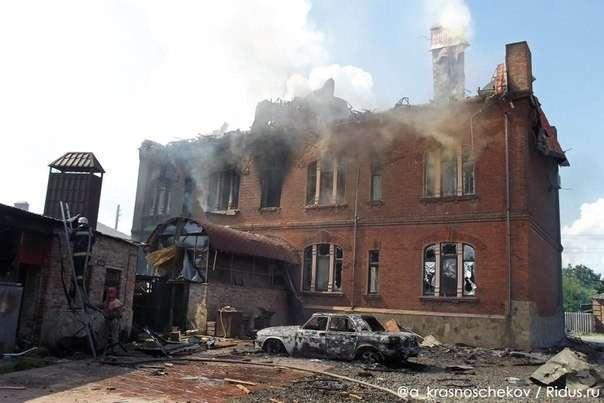 Киевские бандиты начали массовые убийства на Юго-Востоке Украины