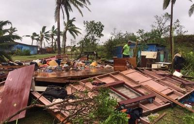 Число жертв тропического урагана «Уинстон» на Фиджи возросло до 20 человек