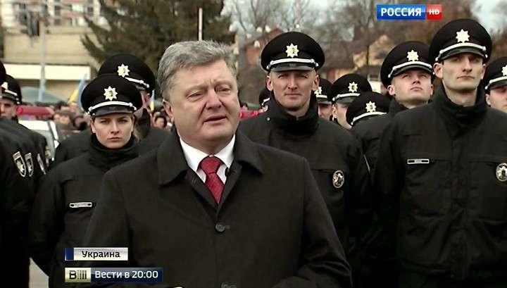 Самозванец Порошенко подготовку третьего Майдана приписал Москве
