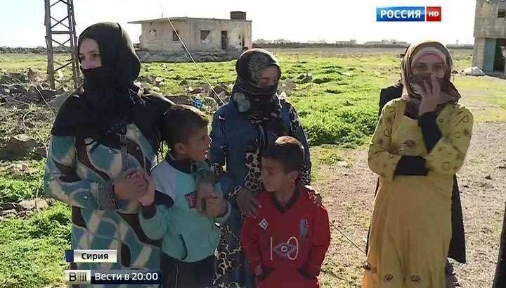 В сирийские сёла начали возвращаться жители