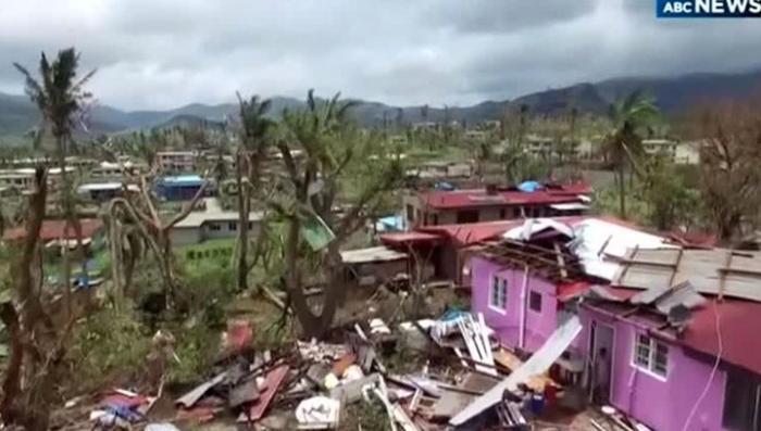 Циклон «Уинстон»: число жертв на Фиджи достигло 36 человек