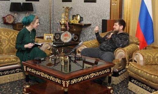Рамзан Кадыров дал интервью «Русской Службе Новостей»